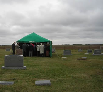 Interment Funeral tent