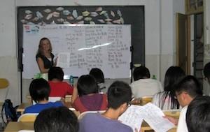 2009 Kristen teaching