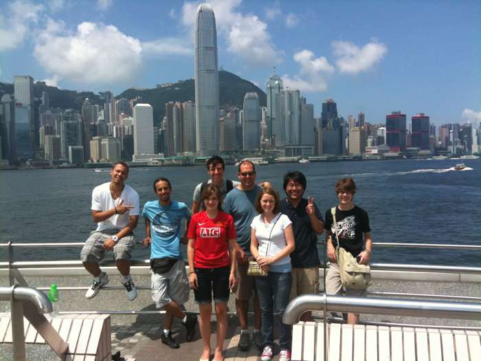 Project Partner Team in Hong Kong