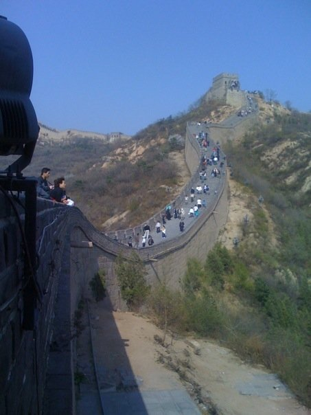 The Great Wall longways