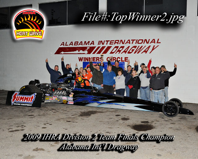 IHRA Winner's Circle Barker Wins