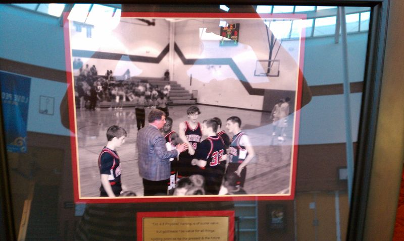 PTJH Boys Basketball black & white & red