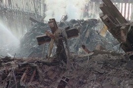 Cross in the Rubble