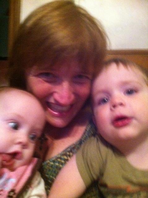 Oct Nana Landon and Morgan