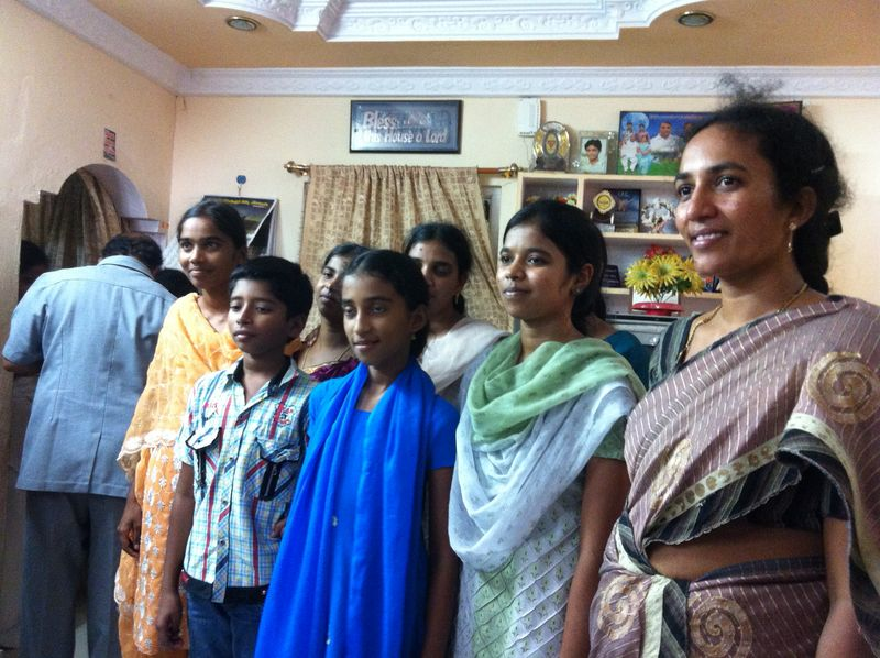 Youth Servant Leaders who served us lunch in Vizag