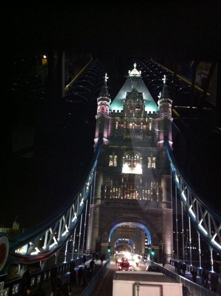 London Bridge at night